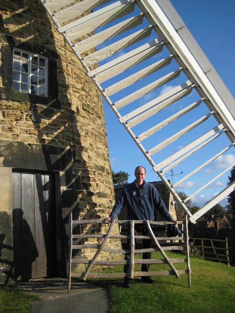 "<span>Ref: </span><br>Me delivering gate hurdles to Heage Windmill, Derbyshire, to stop visitors walking into the sails; 6' x 3'6"" at £120 each inc. VAT"